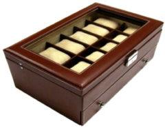 Benson Leder Horlogebox A5 Bruin