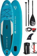 "Turquoise Aqua Marina - Vapor - 10'4"" - 2021 - Opblaasbare sup board - Allround - Beginner - Suppen - 15PSI"