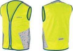 Gele WOWOW Terrazo jacket - veiligheidshesje kind - EN 1150 certificaat - XS