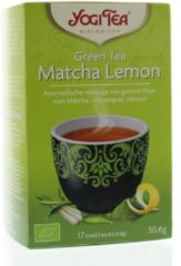 Yogi Tea groen tea matcha lemon 17 Stuks