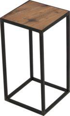 Bruine Spinder Design John Bijzettafel Blacksmith Eikenhout - 40 cm