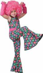 Funny Fashion Kostuum | Polka Dot Jumpsuit | Meisjes| Maat 116 | Verkleedkleding
