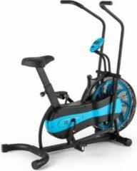 Blauwe Capital_sports CAPITAL SPORTS Stormstrike 2k Crosstrainer - fietsergometer - hometrainer - Geïntegreerde trainingscomputer - 120 kg max.