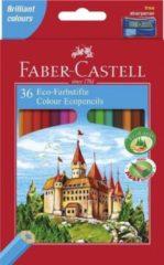 Stone Marketing Ltd Kleurpotlood Faber-Castell Castle zeskantig karton etui met 36 stuks (FC-120136)