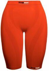 Knapman Ladies Zoned Compression Short 45% Oranje | Compressiebroek (Liesbroek) voor Dames | Maat XS