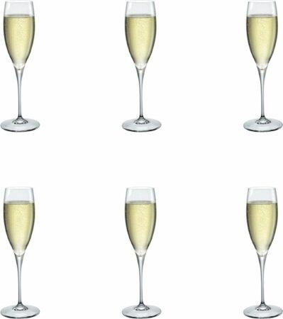 Afbeelding van Transparante Bormioli Rocco Galileo Champagneglas - Luxe Champagneglazen - 26 cl - 6 stuks