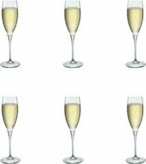 Transparante Bormioli Rocco Galileo Champagneglas - Luxe Champagneglazen - 26 cl - 6 stuks