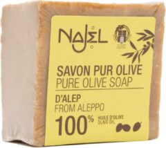 Zwarte Najel Aleppo Aleppo puur olijf zeep (170 gram)