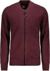 Bordeauxrode Twinlife Full Zip Bomber Tw02406 Wine Tasting