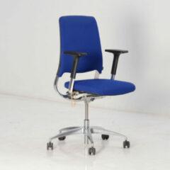 Bureaustoel Drabert Salida, donkerblauw, 4D armleggers