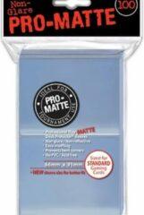 Transparante Asmodee Ultra Pro-Matte Board Game Sleeves: Standard Clear (66x91mm) - 100 stuks