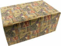 Emper World of Travel Vintage Cadeaupapier Inpakpapier- Kraft - 300 x 70 cm - 5 Rollen