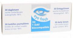 Eye Fresh Eyefresh Daglenzen -1.00 1x30 Stuks