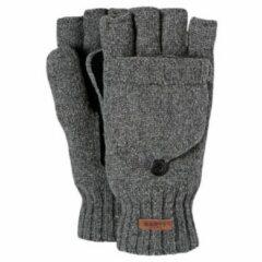 Barts - Haakon Bumgloves - Handschoenen maat S/M, grijs/zwart