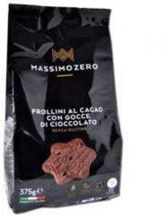 Massimo zero frollini al cacao con gocce di cioccolato senza glutine 375g