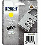 Gele Epson Singlepack Yellow 35 DURABrite Ultra Ink 9.1ml Geel inktcartridge