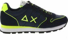Sun68 Heren Lage sneakers Tom Nylon Men - Blauw - Maat 44