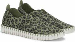 Ilse Jacobsen Tulip 139L instap schoenen groen / combi, ,39 / 6
