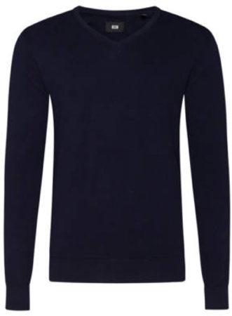 Afbeelding van Blauwe WE Fashion Fundamental trui