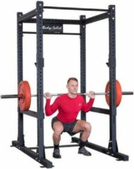 Zwarte Body-Solid Power Rack SPR1000
