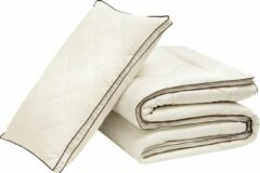Witte Hibboux Harmony Wool dekbed 240x220 wollen dekbed