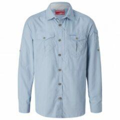 Craghoppers - Nosilife Adventure L/S Shirt - Overhemd maat 4XL, grijs