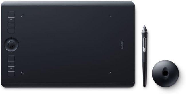 Afbeelding van Wacom Intuos Pro M - PTH-660 (FR, ES, IT, NL) Bluetooth grafisch tablet Zwart