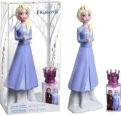 Douglas Frozen II EdT 50ml + Showergel Figure 3D Elsa 250ml Geurset