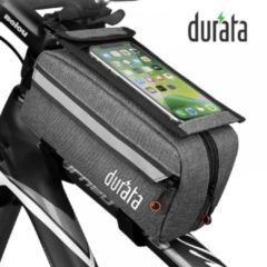Grijze Durata Bicycle Phone Mount Bag (Phone Holder)
