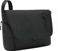 Travelon Urban Anti-diefstal Messenger | Laptoptas Schoudertas | RFID | Heren en dames | Zwart | 43500-500