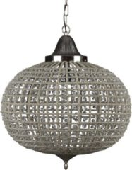 Collectione Hanglamp Gianpaulo groot 50 cm 1 lichts zilver