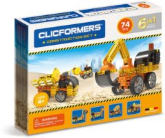 Clicformers construction set 74 stuks