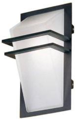 Antraciet-grijze EGLO Park - Buitenverlichting - Wandlamp - 1 Lichts - Antraciet - Wit