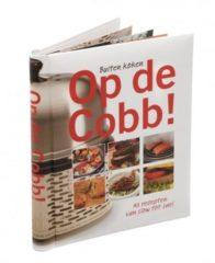 """Zwarte Trendyard Cobb Kookboek """"Op de Cobb"""""""
