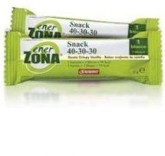 Enerzona Snack 40-30-30 cioccolato fondente gusto crispy vaniglia da 25gr