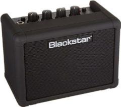 Zwarte Blackstar Fly 3 Bluetooth compacte gitaarcombo