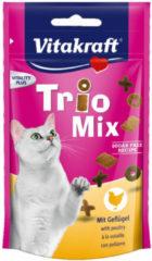Vitakraft Trio Mix 60 g - Kattensnack - Vis