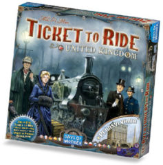 Days of Wonder Ticket to Ride United Kingdom + kaart Pennsylvania - uitbreiding
