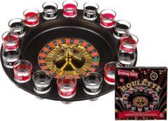 Merkloos / Sans marque Drankspel/drinkspel shotjes roulette feestartikelen - Feest spelletjes voor volwassenen