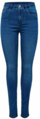 ONLY Onlroyal High-waist Skinny Jeans Dames Blauw