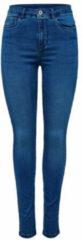 Blauwe Only Onlroyal High W.skinny Jeans Pim504 15097919 Medium Blue Denim