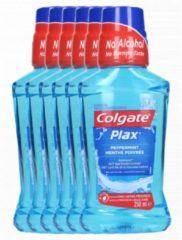 Colgate Plax Peppermint - Mondwater - 6 x 250ml - Voordeelverpakking