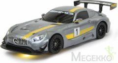 Jamara 410028 Mercedes AMG GT3 grau 1:14 RC modelauto voor beginners Elektro Straatmodel