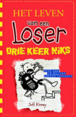 Kinderboeken Het leven van een Loser 11: Drie keer niks. 9+