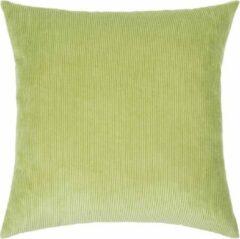 Pad sierkussenhoes Casual groen - 50x50 cm