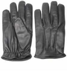 Pothelm.nl Classic fleece lined zwart | Leren winterhandschoenen | maat M