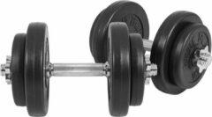 Gorilla Sports Dumbellset 20 kg (4 x 2,5 kg, 4 x 1,25 kg) Kunststof