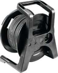 PSSO DMX kabeltrommel XLR 30m zwart Neutrik 2x0.22
