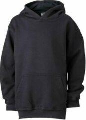 James & Nicholson James and Nicholson Kinderen/Kinderkapjes Sweatshirt (Zwart)