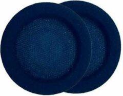 Zwarte POLY 202997-02 hoofdtelefoon accessoire Cushion/ring set